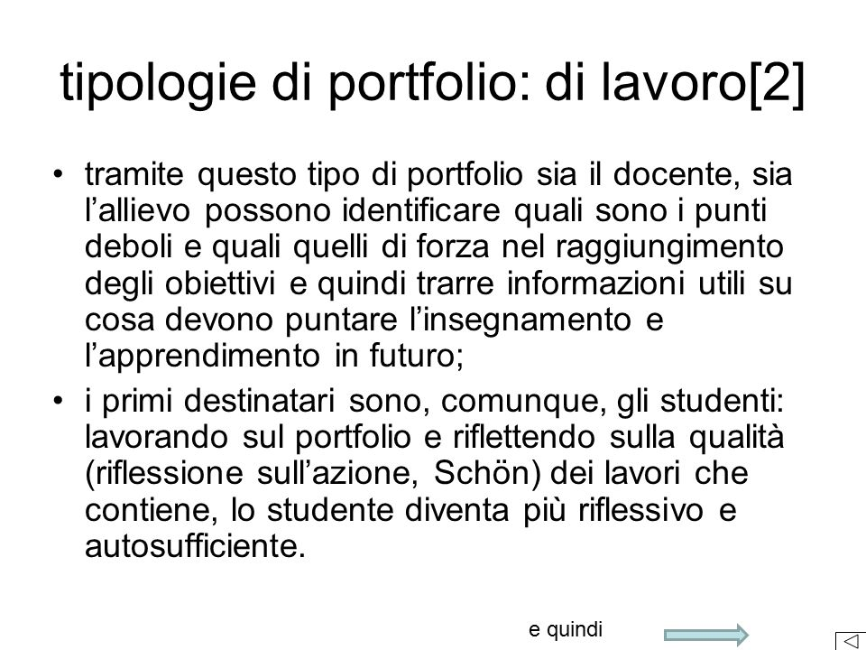 tipologie di portfolio: di lavoro[2]